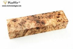 Poplar burl Raffir stabilized (125x35x25mm)