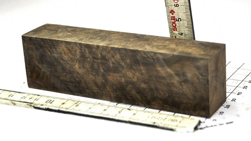 Walnut Burl (stabilized) XXL Block in Quality AAA+