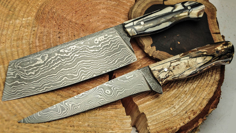 Damascus-Knife forging class (2 days)