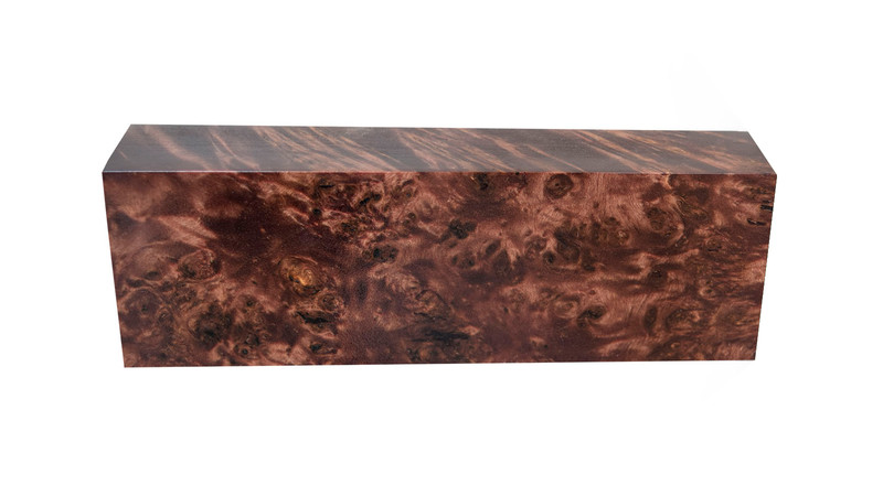 Poplar Burl Brown (stabilized)