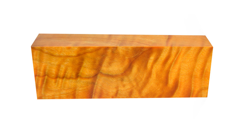 Flamed Poplar Orange (stabilized)