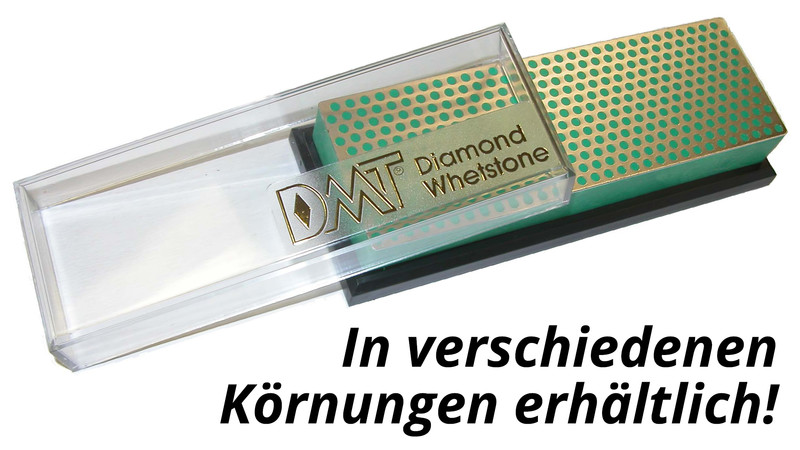 6 Diamond Whetstone Schärfblock in Plastikbox